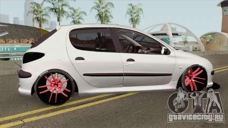 Peugeot 206 Full Sport для GTA San Andreas