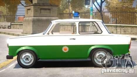 1981 Trabant Police для GTA 4