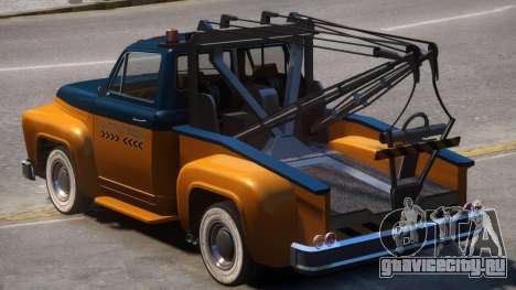 Vapid Tow Truck Restored V2 для GTA 4