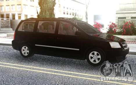 Dodge Grand Caravan 2010 для GTA San Andreas
