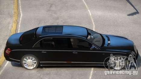 Maybach 62S V2 для GTA 4