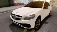 Mercedes-Benz E63 AMG White для GTA San Andreas