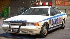 Vapid Stanier Police V2 для GTA 4