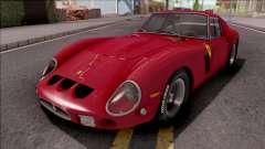 Ferrari 250 GTO 1962 Red для GTA San Andreas