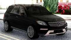 Mercedes-Benz ML Class 2013 Sport Black для GTA San Andreas