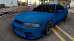 Nissan Skyline GT-R R33 для GTA San Andreas
