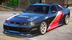 Nissan Skyline GTR PJ3 для GTA 4
