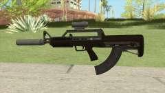 Bullpup Rifle (Two Upgrades V10) GTA V для GTA San Andreas