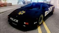 Lamborghini Diablo SV Police NFS Hot Pursuit для GTA San Andreas