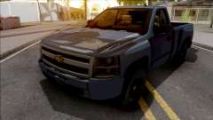 Chevrolet Silverado Single Cab 2010 для GTA San Andreas