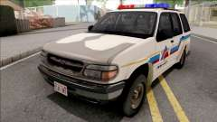 Ford Explorer 1995 Hometown Police для GTA San Andreas