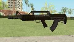 Bullpup Rifle (With Flashlight V1) GTA V для GTA San Andreas