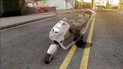 Suzuki Address BHPOST EXPRESS для GTA San Andreas