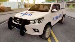 Toyota Hilux Policia Fuerza Publica для GTA San Andreas