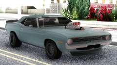 Plymouth Hemi Cuda Convertible для GTA San Andreas
