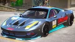 Ferrari 458 GT2 PJ2 для GTA 4