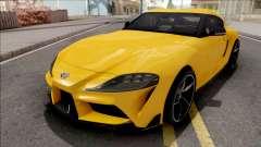Toyota GR Supra 2019 для GTA San Andreas