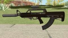 Bullpup Rifle (Three Upgrades V4) GTA V для GTA San Andreas