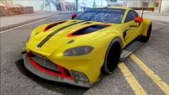 Aston Martin Vantage GTE 2018 для GTA San Andreas