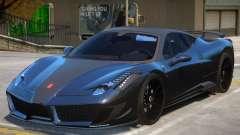 Ferrari 458 Siracusa для GTA 4