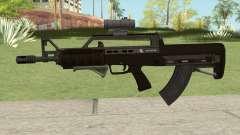 Bullpup Rifle (Two Upgrades V5) GTA V для GTA San Andreas