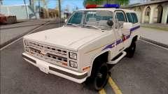 Chevrolet Blazer 1985 Hometown Police для GTA San Andreas
