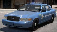 Ford Crown Victoria Military Police для GTA 4