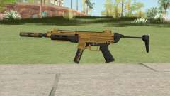 SMG Silenced V1 (Luxury Finish) GTA V для GTA San Andreas