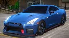 2018 Nissan GT-R Nismo v1.2 для GTA 4