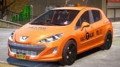 Peugeot 308 Taxi для GTA 4