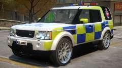 Land Rover Police для GTA 4