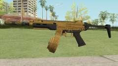 SMG Silenced V2 (Luxury Finish) GTA V для GTA San Andreas