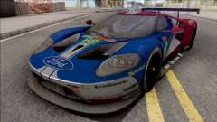 Ford GT 2019 Le Mans для GTA San Andreas