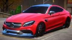 Mercedes Benz C63 Brabus V1 для GTA 4