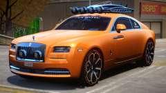 2014 Jon Olsson Rolls Royce Wraith для GTA 4