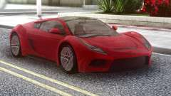 Saleen S5s Raptor 2010 Red для GTA San Andreas