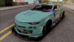 Chevrolet Camaro SS 2017 Custom Kit для GTA San Andreas
