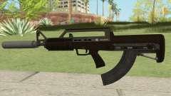 Bullpup Rifle (With Silencer V2) GTA V для GTA San Andreas