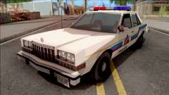 Dodge Diplomat 1989 Hometown Police для GTA San Andreas
