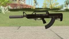 Bullpup Rifle (Two Upgrades V4) GTA V для GTA San Andreas