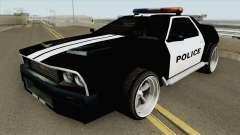 DeLorean DMC-12 Police 1981 для GTA San Andreas