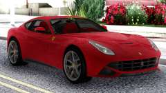 Ferrari F12 Berlinetta Red Original для GTA San Andreas