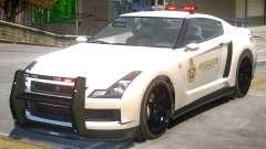 Annis Elegy RH8 Sheriff для GTA 4