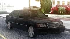 Mercedes-Benz S600 W140 Original Black для GTA San Andreas