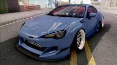 Subaru BRZ Blue для GTA San Andreas