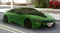 BMW I8 2018 Green для GTA San Andreas