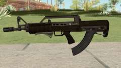 Bullpup Rifle (With Grip V2) GTA V для GTA San Andreas