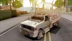 Ford F-350 Con Estacas Grey для GTA San Andreas