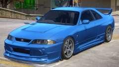 Nissan Skyline GTR V1.1 для GTA 4