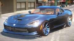 Dodge Viper SRT R3 для GTA 4